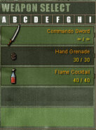 Weapon Category A