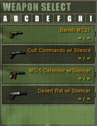 Weapon Category B