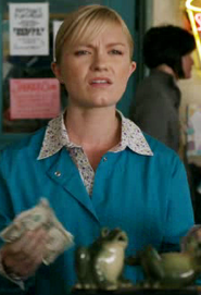 Cafeteria cashier