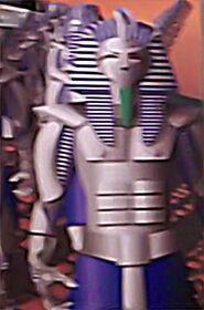 Inspectors Spacetime Pharoahbots