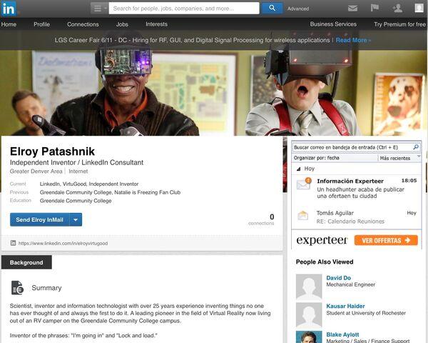 File:Elroy's LinkedIn profile page.jpg