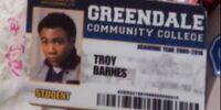 Greendale ID card