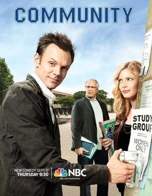 NBC Community poster