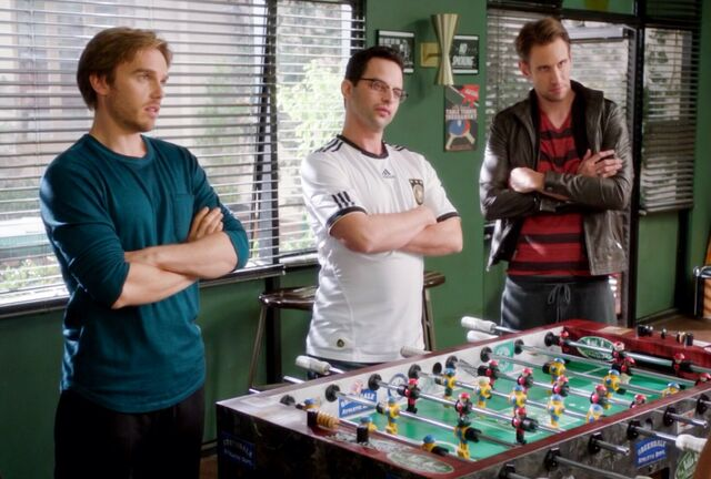 The Germans 3x9