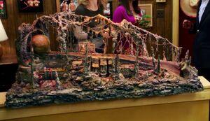 Indiana Jones diorama