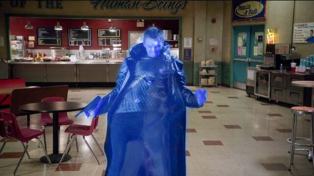 File:S04E13-Evil Jeff warped back to Darkest Timeline.jpg