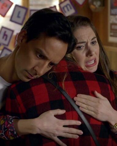 File:S06E02-Abed and Annie hug Britta.jpg