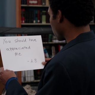 Abed has <a href=