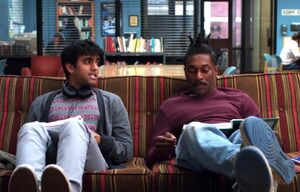 Abed's Troy and Abed rapping