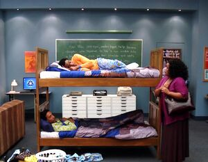 Troy and Abed in their bunk bed