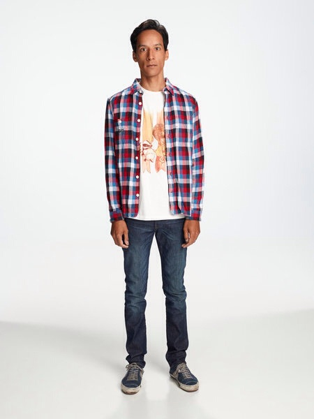 Image result for abed nadir outfit