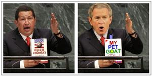 Chavez and Bush