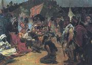 Slave market-medieval Eastern Europe