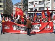 International Workers Day-Santiago de Compostella