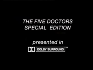 The Five Doctors Special Edition