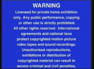 Entertainment In Video Warning Scroll (1999, DVD) (1)