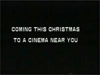 Coming This Christmas to a cinema Near You Disney 1990 ID