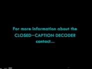 ECI 2003 Closed Captions Screens (S2)