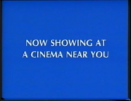 Now Showing at a cinema Near You Disney 1999 ID