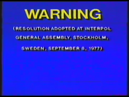 20th Century Fox Video 1977-1984 Australian Warning (S4)