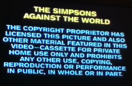 20th Century Fox Warning Scroll 1997 (S1)