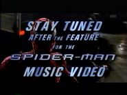 Stay Tuned After The Feature For The Spider-Man Music Video