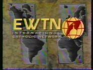 EWTN rare station ID 1995 with the ewtn globe