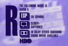 HBO rated R 1994 - 1995