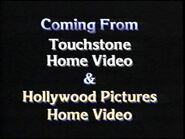 Coming from Touchstone Home Video & Hollywood Pictures Home Video