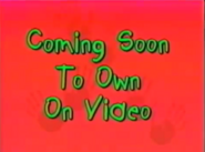 Coming Soon to Own on Video (Playhouse Disney Variant)