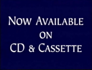 Now Available on CD and Cassette from Disney