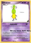 Celestower card