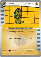 Sarcoffin card