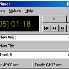 CD player in Windows 98