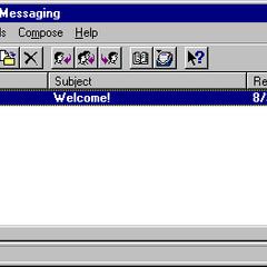 Windows Massaging in Windows NT 4.0