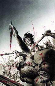Conan the Cimmerian -12 Joseph Michael Linsner