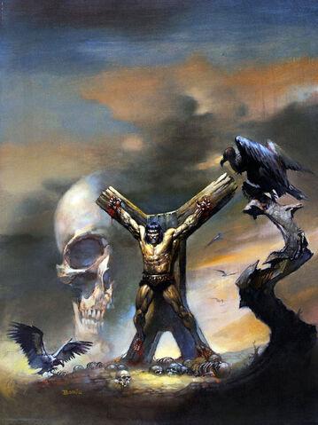 File:-5 junio 1975 . Una bruja ha de nacer. Guión de Roy Thomas, lápices de John Buscema, tintas por la tribu (Tony DeZuniga y otros).jpg