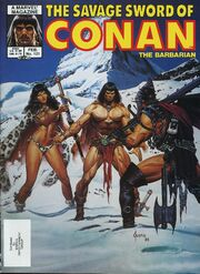 Savage Sword of Conan Vol 1 121