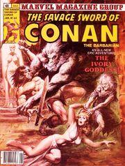 Issue -60 The Ivory Goddess Jan. 1, 1981---