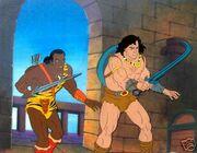 Conan the Adventurer (animated series) Conan & Zula