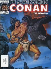 Savage Sword of Conan Vol 1 134
