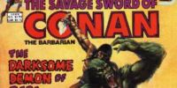 Savage Sword of Conan 84