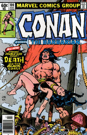 Conan the Barbarian Vol 1 100