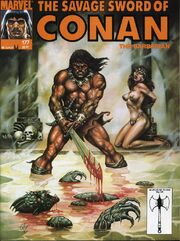 Savage Sword of Conan Vol 1 177
