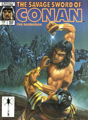 Savage Sword of Conan Vol 1 163