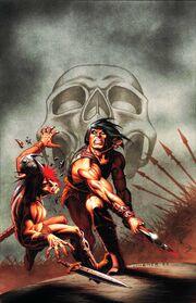 Conan the Cimmerian -9 Joseph Michael Linsner