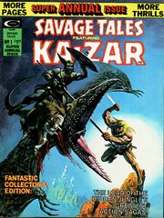 Savage Tales 12 Annual Savage Tales Summer , 1975