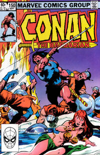 Conan the Barbarian Vol 1 150