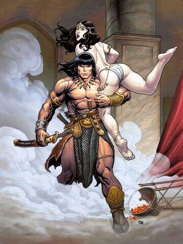 File:Conan the Cimmerian -2 Frank Cho.jpg