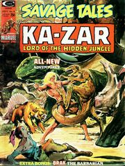 Savage Tales 6 Sept. 1, 1974
